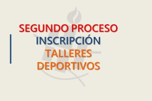 2017, segundo proceso inscripcion talleres